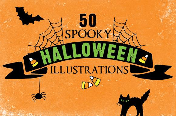 Spooky Halloween Vector Pack - Illustrations - 1