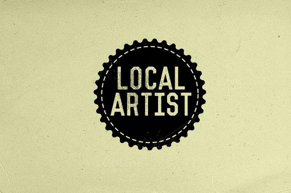 Local Artist Badge Graphic