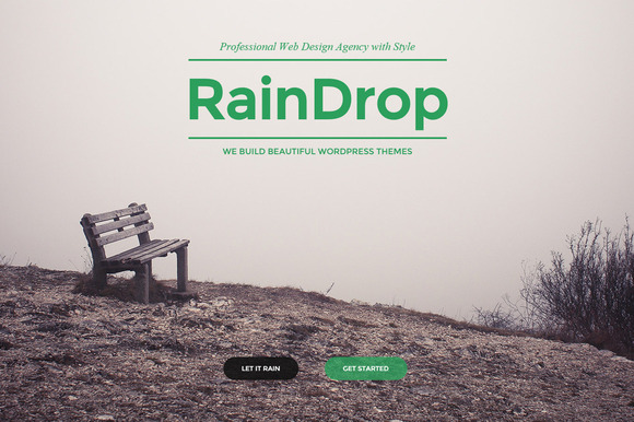 RainDrop - A Multipurpose Theme - Business - 1