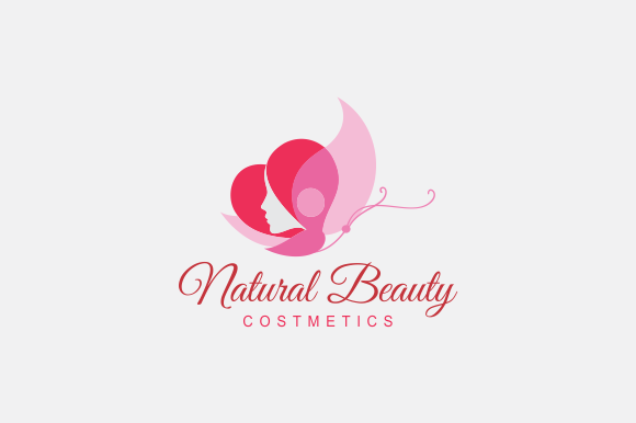 natural beauty logo logo templates on creative market