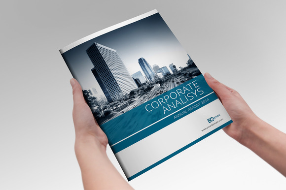 Annual Report Template Indesign Annual Report Indesign