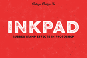 InkPad - Rubber Stamp Effec-Graphicriver中文最全的素材分享平台