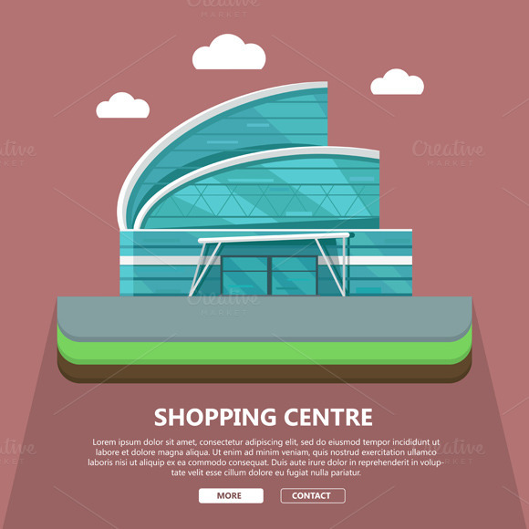 Shopping Centre Web