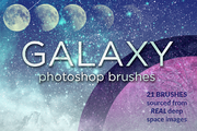 Galaxy Brushes for Photosho-Graphicriver中文最全的素材分享平台