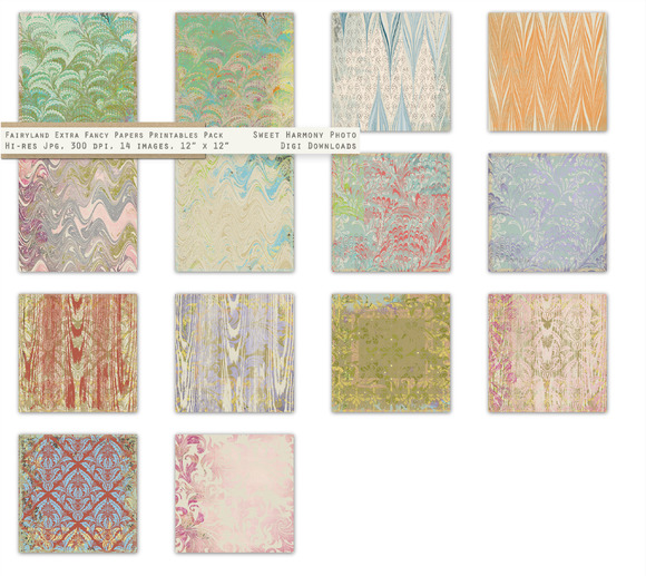 Fairyland Marbled Paper Extra Fancy