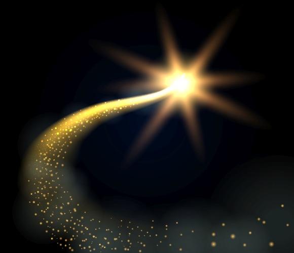 Magic Christmas Glowing Star