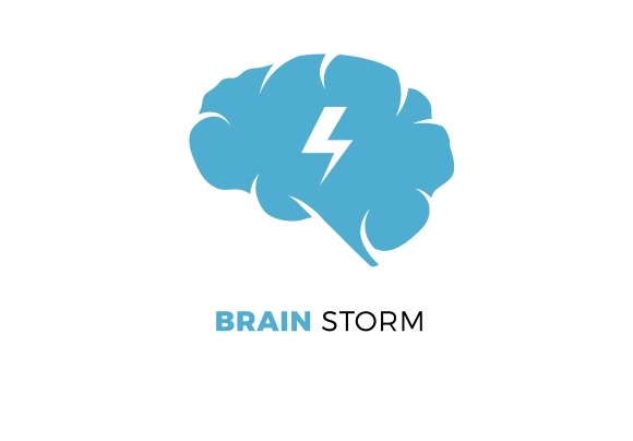 Brainstorming Creative Idea Concept