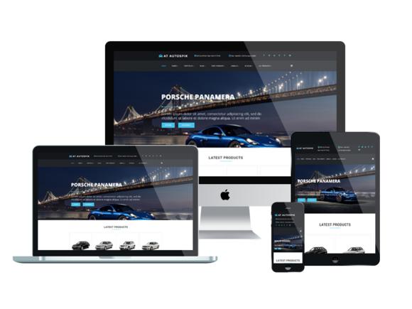 AT AUTOSPIK-Onepage Joomla Template