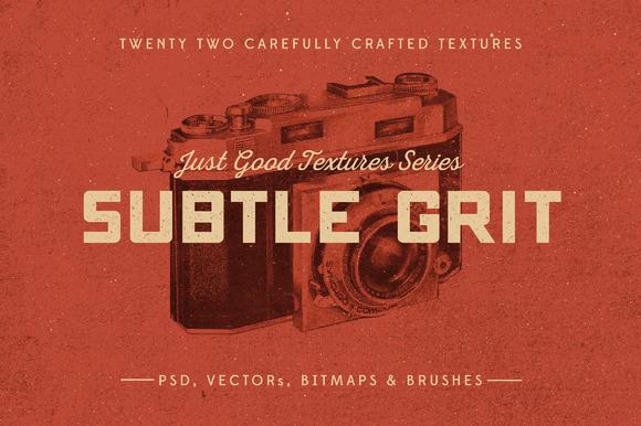 Just Good Textures Subtle Grit
