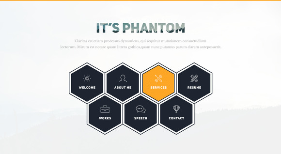 Phantom-Resume CV Portfolio Template