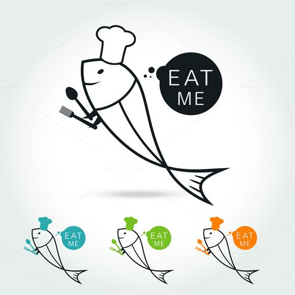 Chef Fish Logo