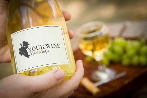Wine Bottle Label 5