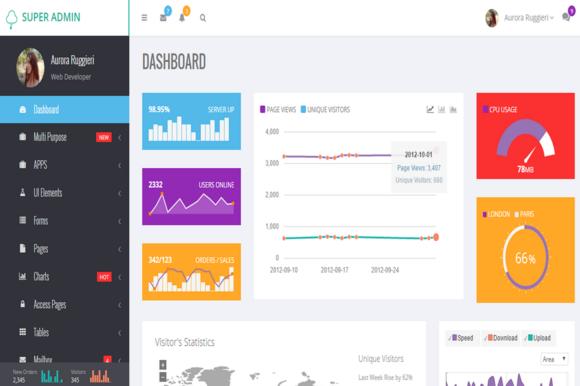 Super Admin Bootstrap Admin Theme