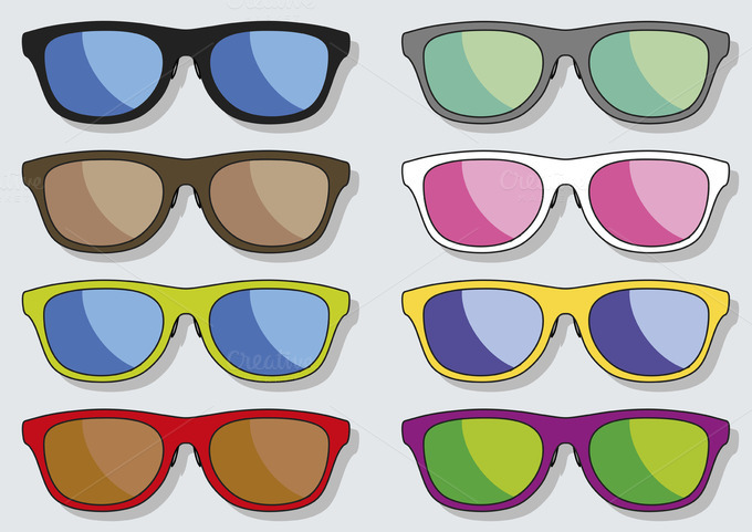 Sun Glasses Spectacles Sunglasses