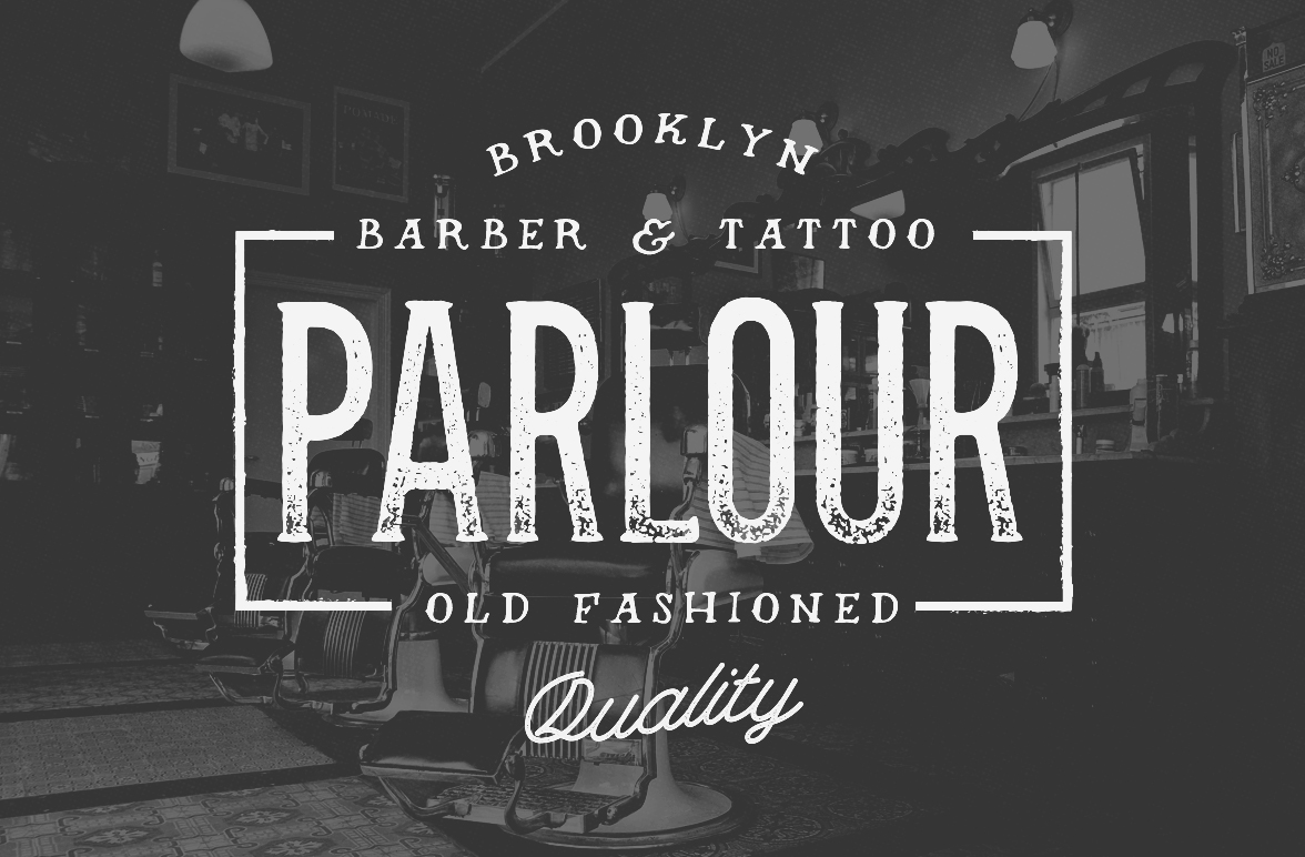 Over 50% Off - Parlour ~ Display Fonts on Creative Market