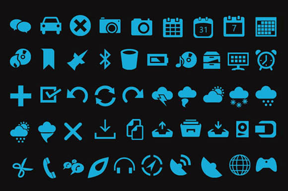 1900 Vector Icons - Icons - 3
