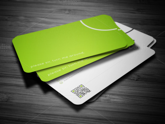 Friendly Business Card - Business Cards - 1
