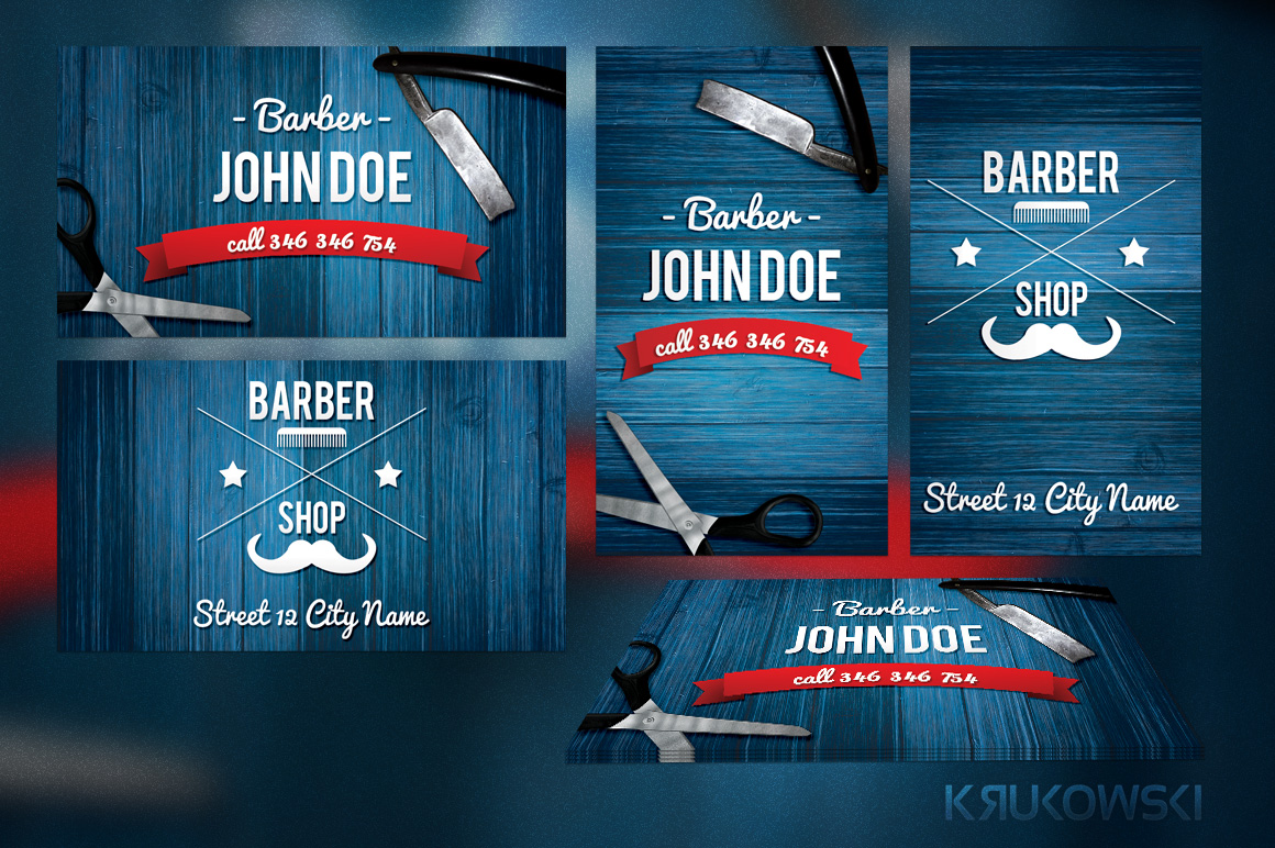 Barber shop business card templates business card sample barber shop business card templates cheaphphosting Images