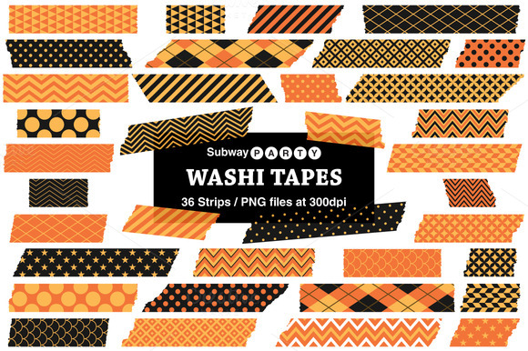 Halloween Washi Tapes