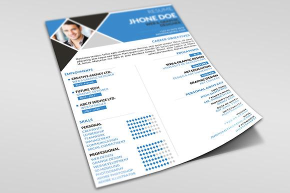 Handbill Resume Examples