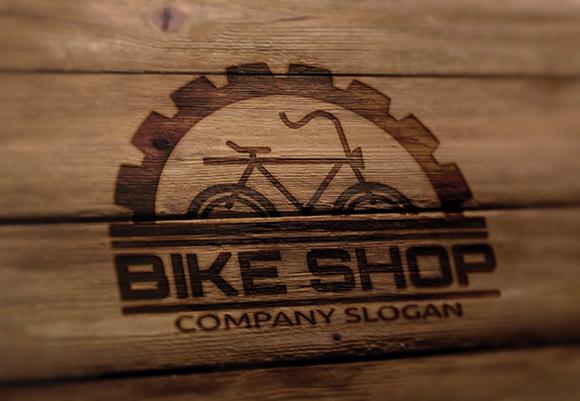 Bicycle Shop Logo Bike Shop Logo