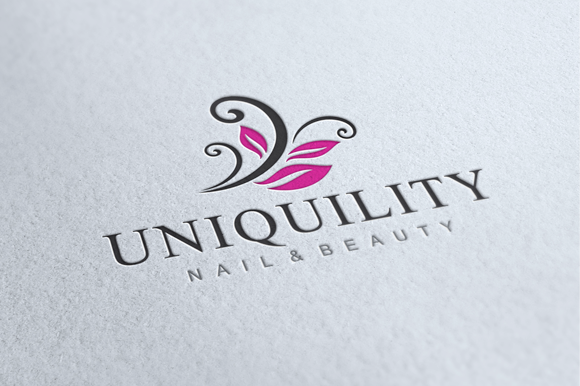 Nail & Beauty Logo ~ Logo Templates on Creative Market