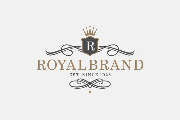Https Creativemarket Com A R Studio 82918 Royal Brand Logo