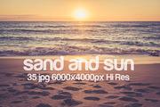 sand and sun-Graphicriver中文最全的素材分享平台