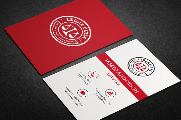 lawyer business card vol 01