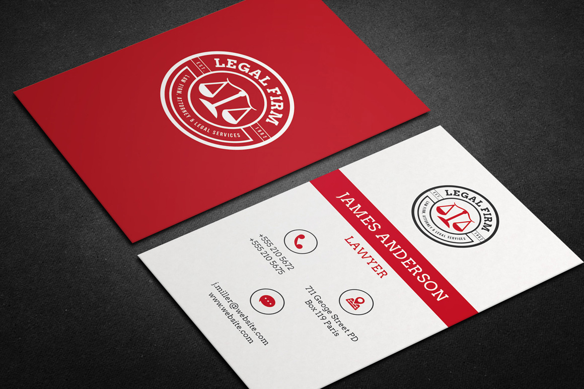 lawyer business card vol01 business card templates on
