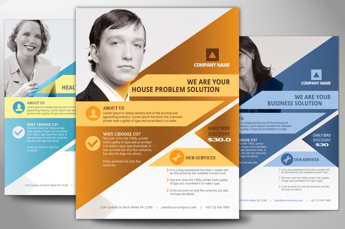 Residential house cleaning business flyer examples samples business flyersmultipurpose business flyer poster flyer templates on creative vgspbfik accmission Gallery