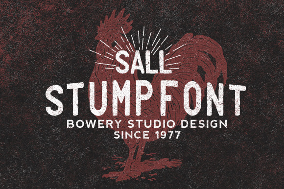 Stump Font Family Download