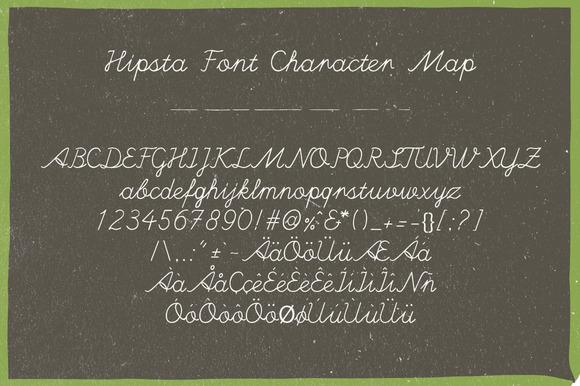 免费字体 Hipsta丨反斗限免