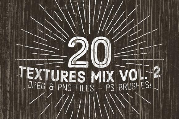 20 Textures Mix Vol. 2 - Textures - 1