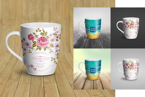 Mug Mock-Up Coffee Cup Bowl Pan