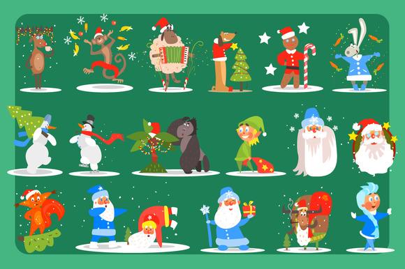 Christmas Set Christmas Decoration
