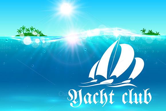 Yacht Club Placard