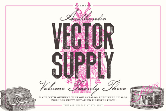Unember Vector Supply Volume 23