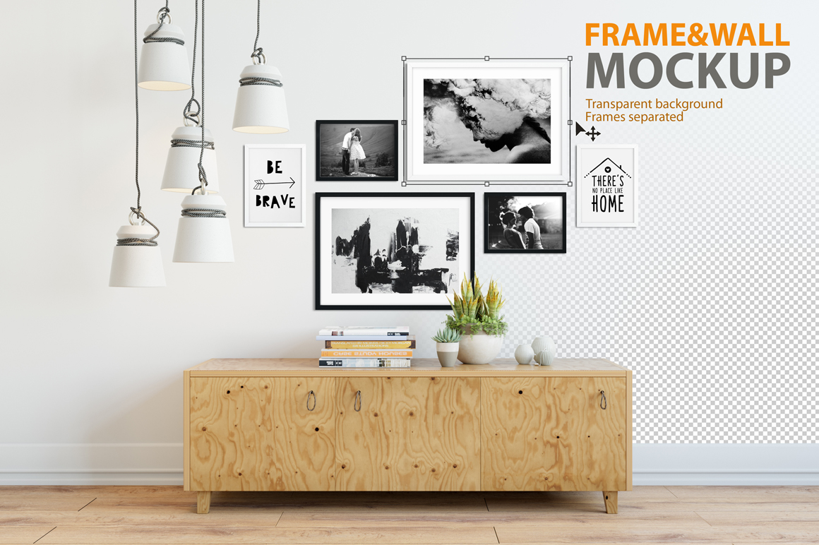 Frame Amp Wall Mockup 04 Product Mockups On Creative Market