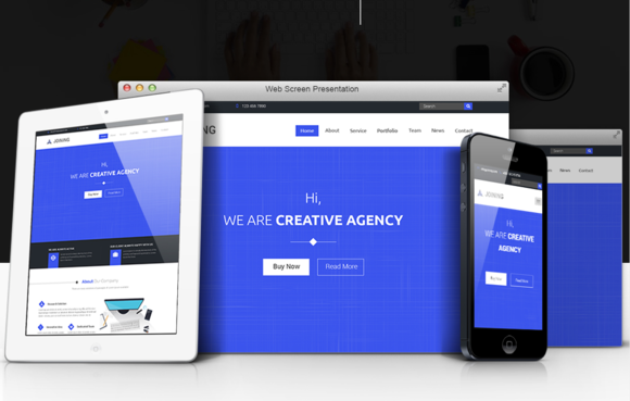 Joining Multipages Agency Template