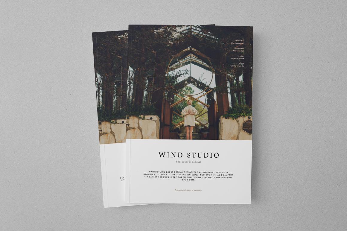 photography portfolio brochure templates on creative market. Black Bedroom Furniture Sets. Home Design Ideas