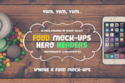 Food Hero Headers iPhone 6 -Graphicriver中文最全的素材分享平台