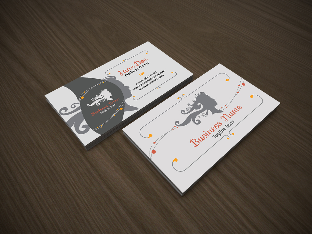 Free hair stylist business card templates business card sample beauty salon business card templates friedricerecipe Gallery