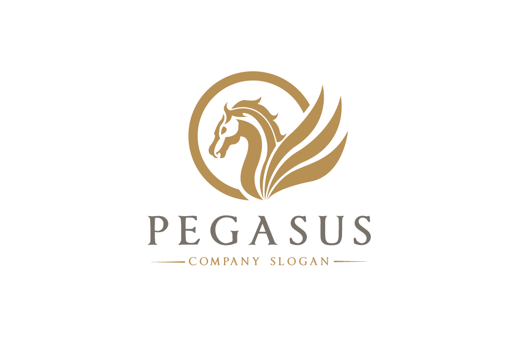Pegasus Logo Logo Templates On Creative Market