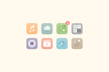 Simple icon pack