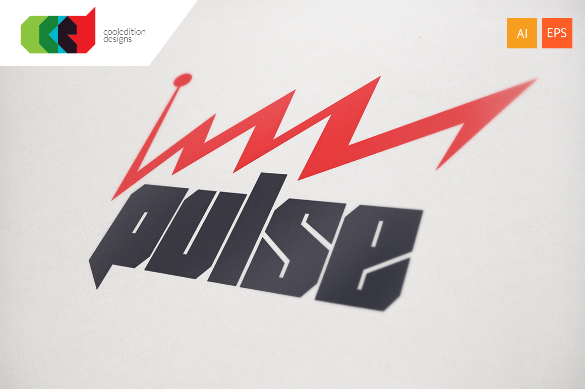 Pulse Logo Template Logo Templates On Creative Market