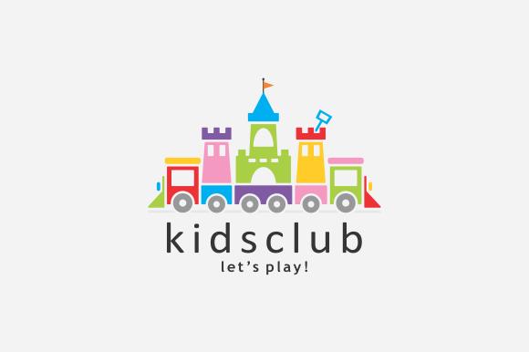 Kids Club Logo ~ Logo Templates on Creative Market