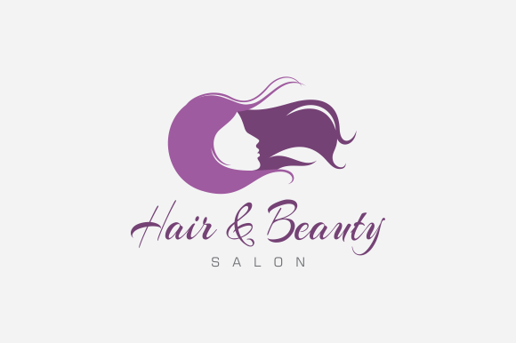 hair  u0026 beauty salon logo