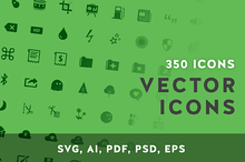 350 General UI Icons