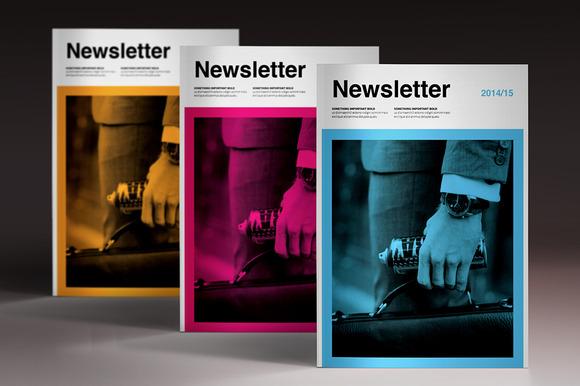 Newsletter Brochure - Brochures - 1